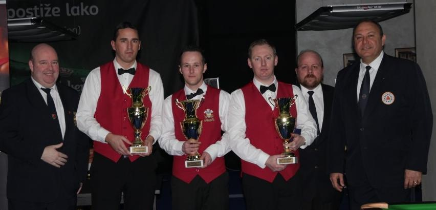 Wales win team championships