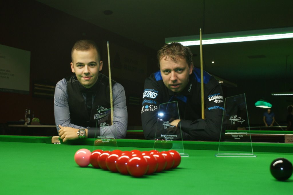 Brecel beats Van Hove in first Belgium Ranking Final.