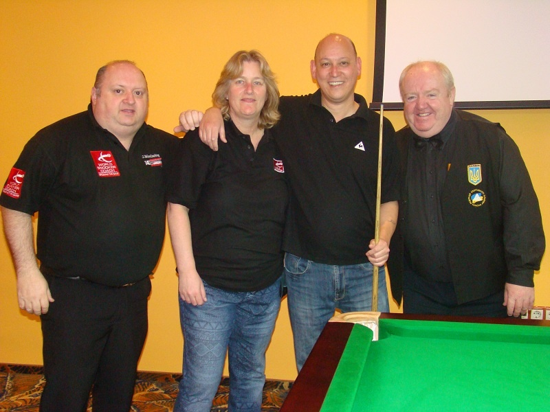 EBSA Cue Zone Day 8 goes Dutch