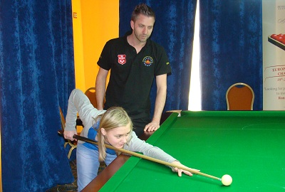 EBSA Cue Zone Day 2 goes Belarus