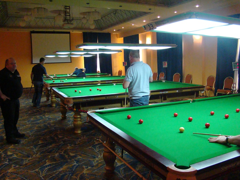 EBSA Cue Zone Day 7 goes German & Scottish