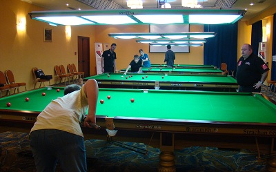 EBSA Cue Zone Day 3 goes Russian / Romanian