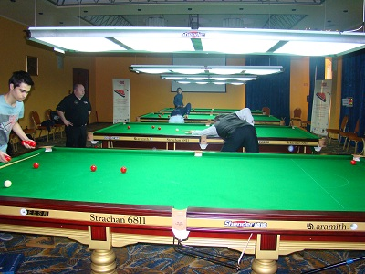 EBSA Cue Zone Day 5 goes Romanian