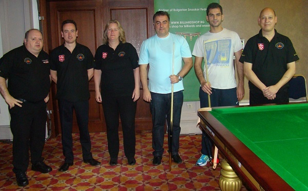 EBSA Cue Zone Day 1 goes Cyprus & Swiss