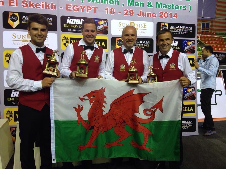 Wales gets three teams in Masters semis