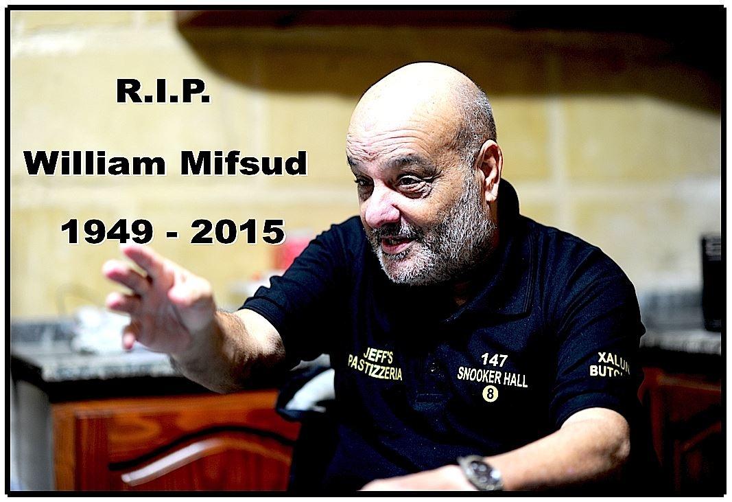 Willie Mifsud R.I.P