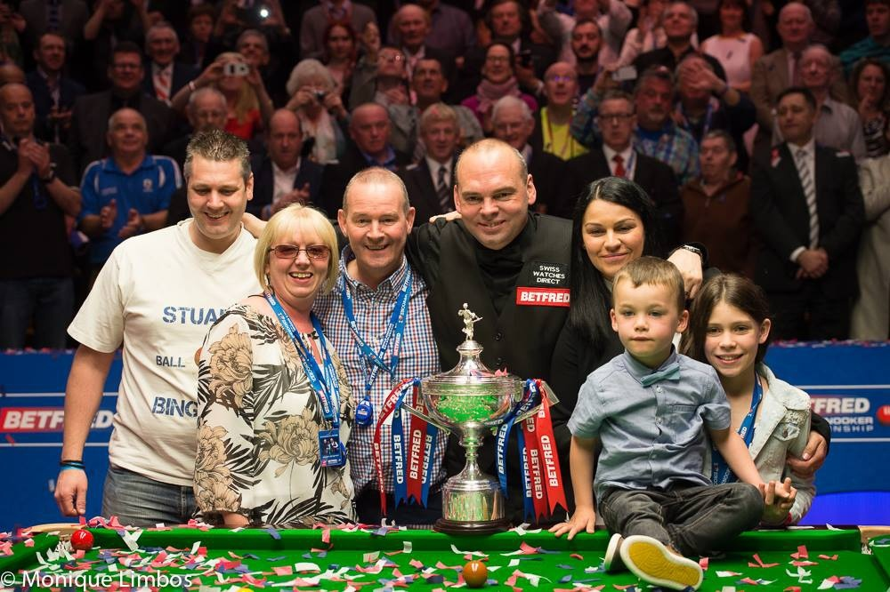 Sensational Stuart Bingham is the new world champion