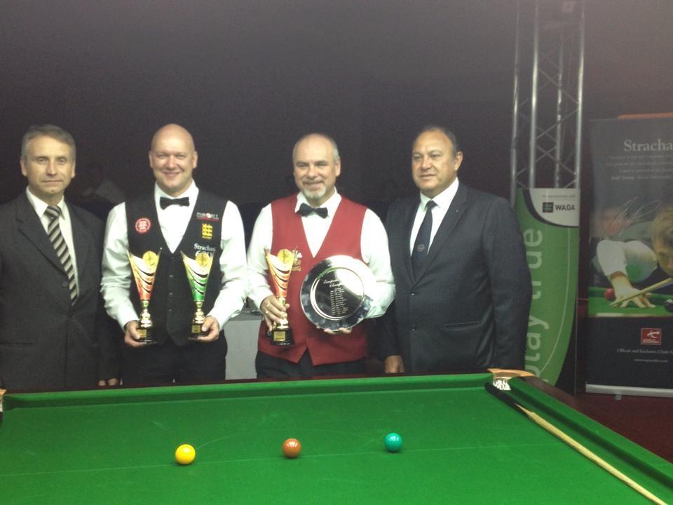 Darren Morgan European Masters Champion