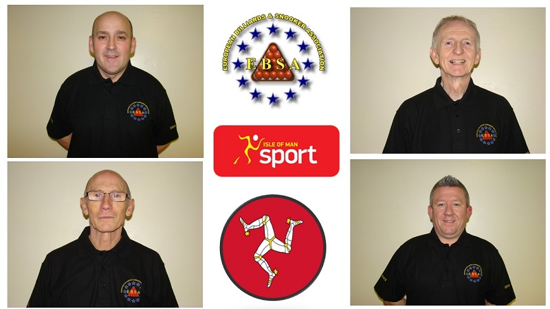 EBSA Coaching Course in the Isle of Man