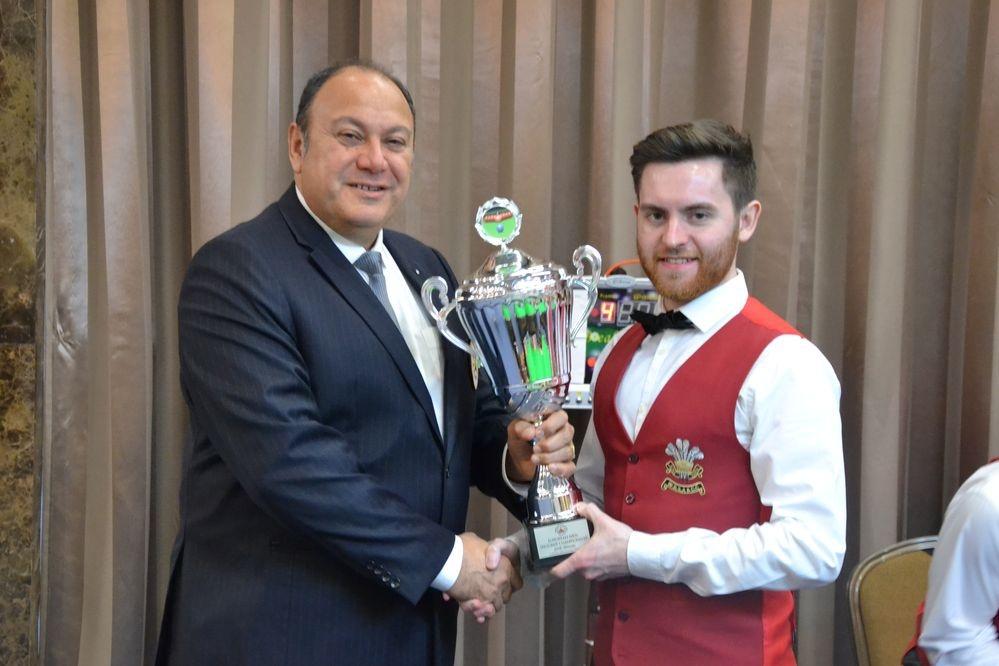 Jak Jones is the new European Champion