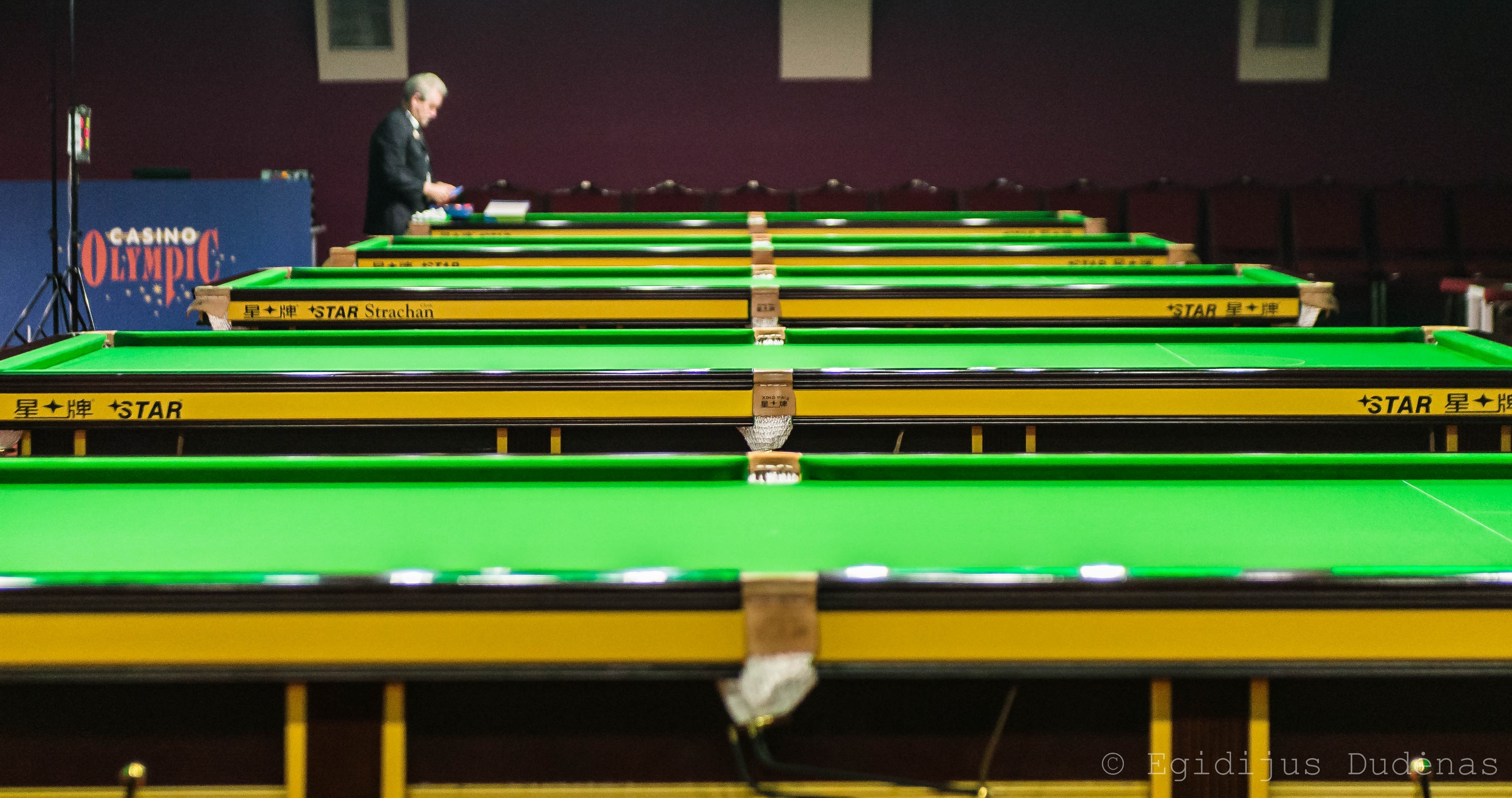 European 6 Reds Snooker Championship - Vilnius
