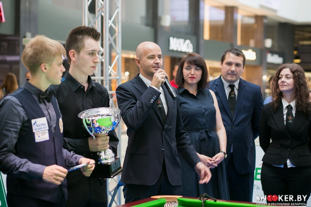 The Minsk Open 2016 was won by Jeff Jacobs from Belgium.