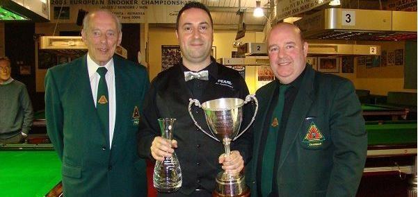 Mick Judge win Irish Championships