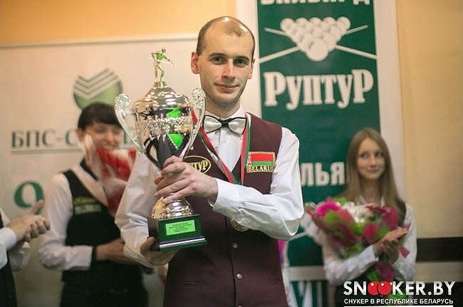 Hard-fought victory for Alexander Kostyukovets in the Minsk Open Cup 2013.