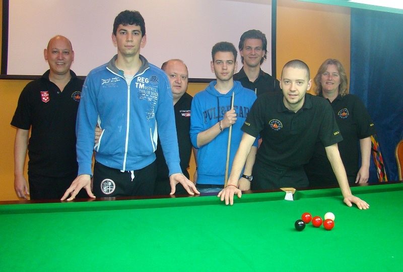 EBSA Cue Zone Day 6 goes Croatian