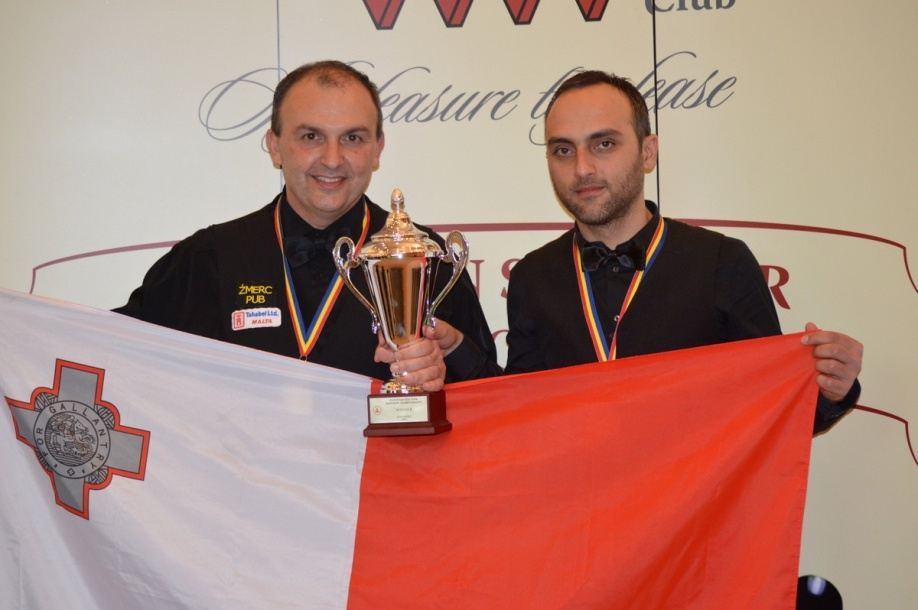 Borg and Bezzina to defend title on home soil