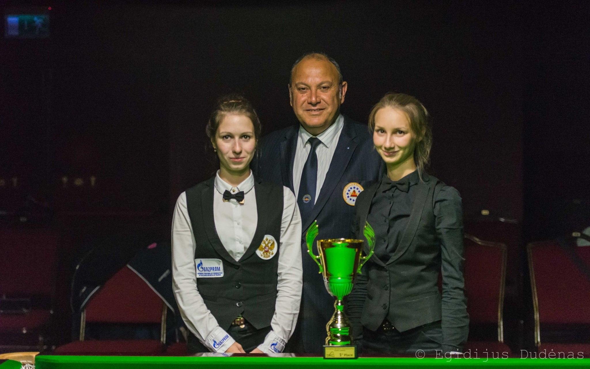Russia's team wins the Ladies Team title.