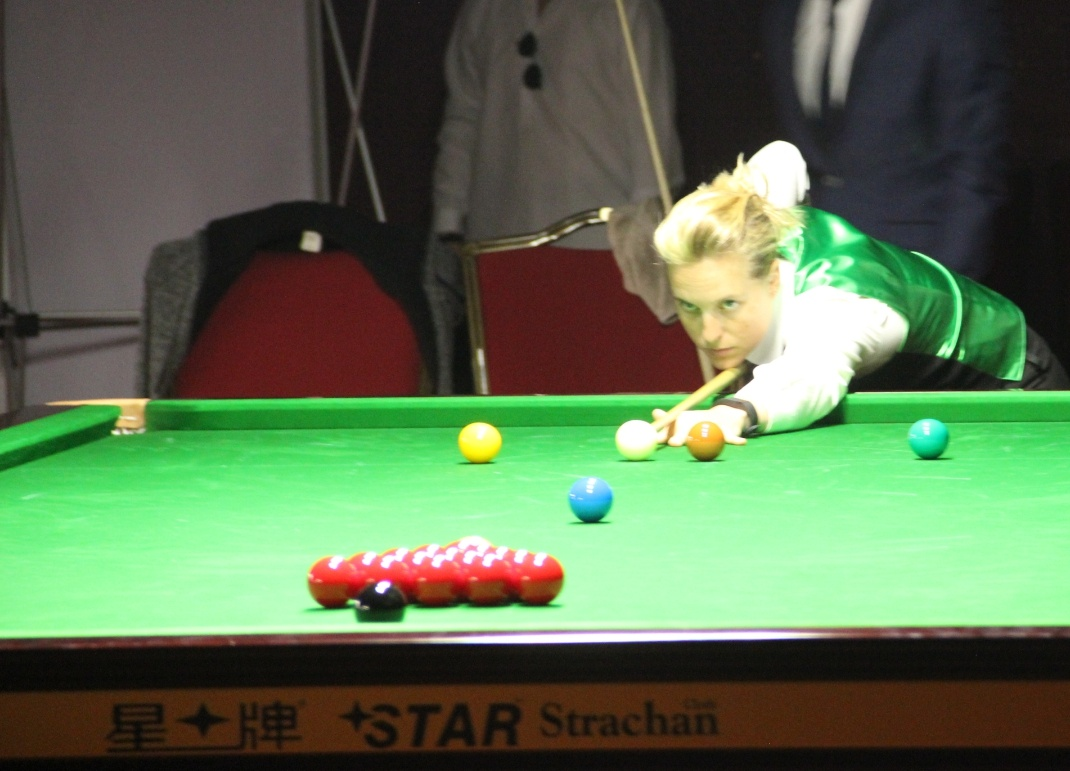 Jans through to the Ladies' final